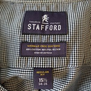 Stafford Shirts - Stafford Men's Dress Shirt